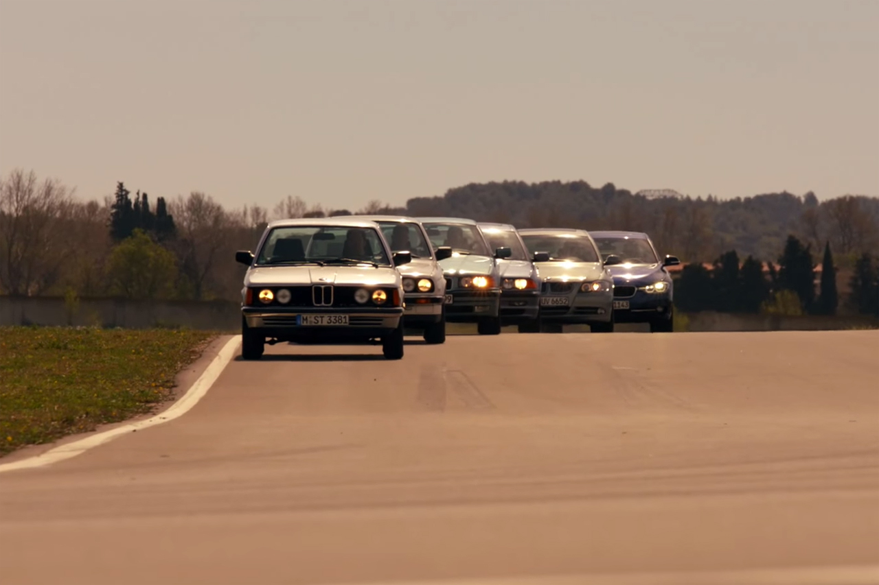 Celebrating the 40th Anniversary of the BMW 3 Series
