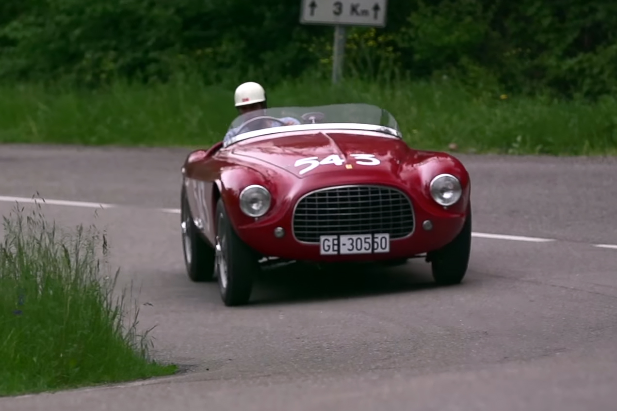 "Chris Harris Takes the ""Perfectly Musical"" 1952 Ferrari 212 Barchetta for a Spin"