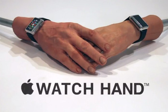 """Conan O'Brien Spoofs With the """"Apple Watch Hand"""""""