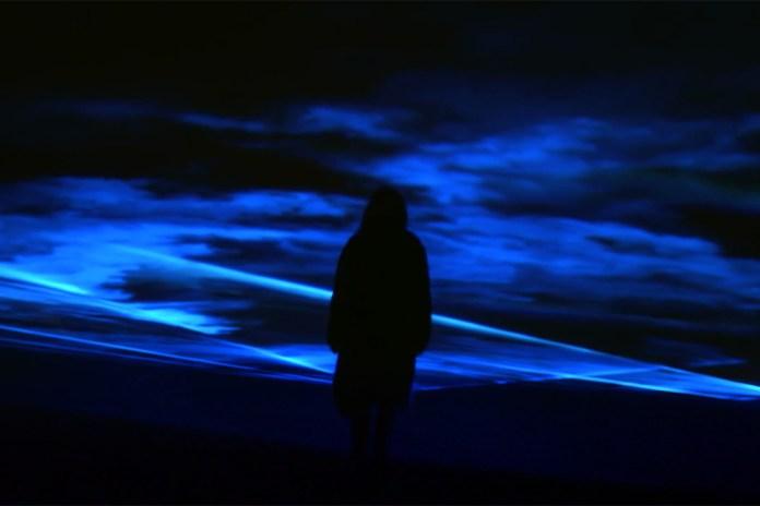 "Daan Roosegaarde ""Waterlicht"" Installation @ Museumplein"