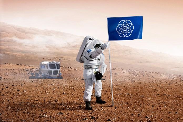 Designer Oskar Pernefeldt Proposes Planet Earth Flag Design