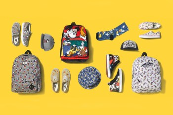 """Disney x Vans 2015 Summer """"Young at Heart"""" Collection"""