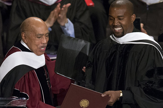 Dr. Kanye West Gives Honory Doctorate Speech at SAIC
