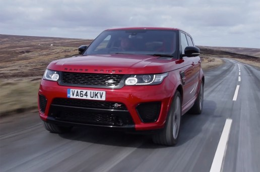/DRIVE Drifts and Jumps the 2015 Land Rover Range Rover SVR