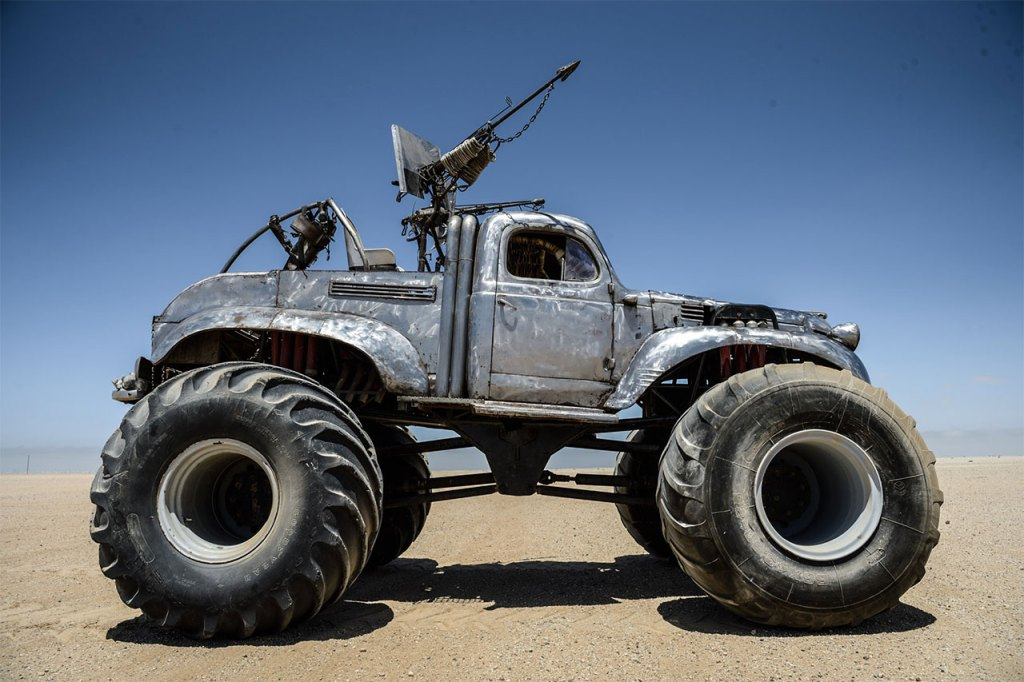 Monster Truck Cadillac >> Every Car in 'Mad Max: Fury Road' Explained