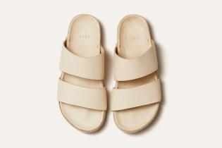 FEIT Hand-Molded Leather Sandal