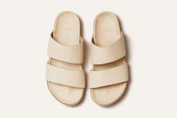 FEIT Hand-Molded Leather Sandal