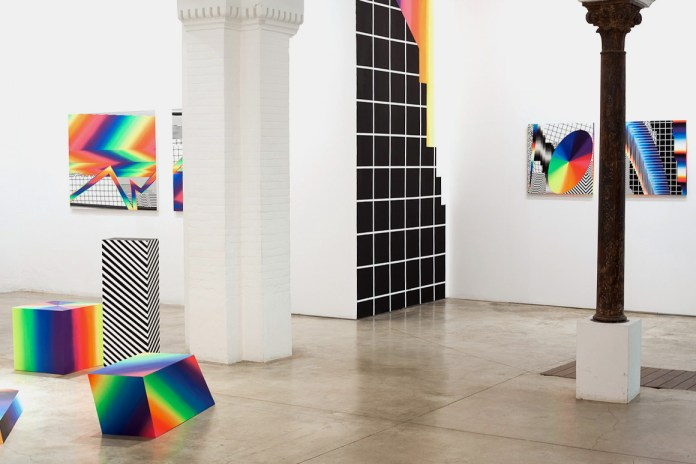 Felipe Pantone 'Opticromías' Exhibition @ Delimbo Gallery