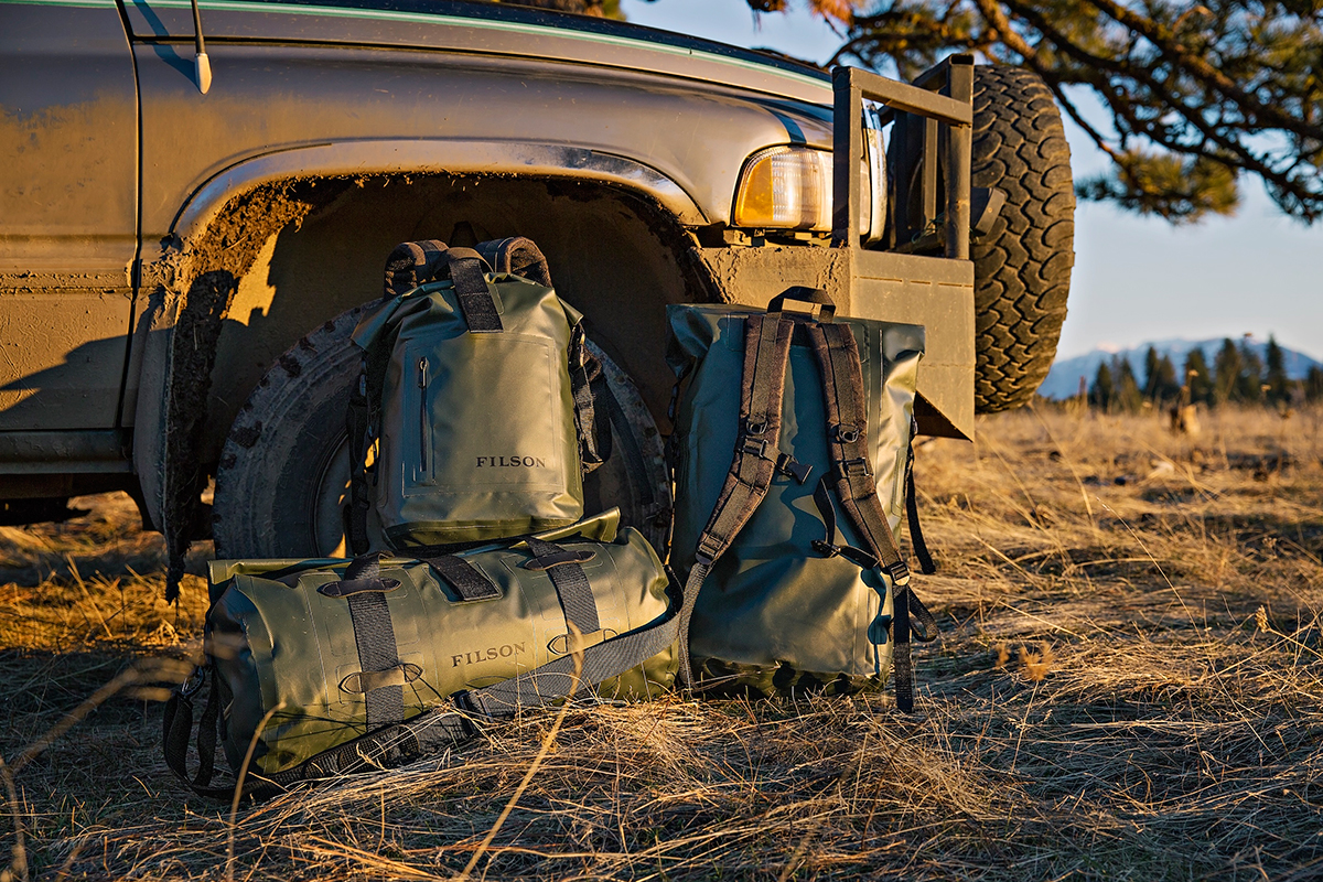 """Filson Dry Bags """"Green"""" Collection"""