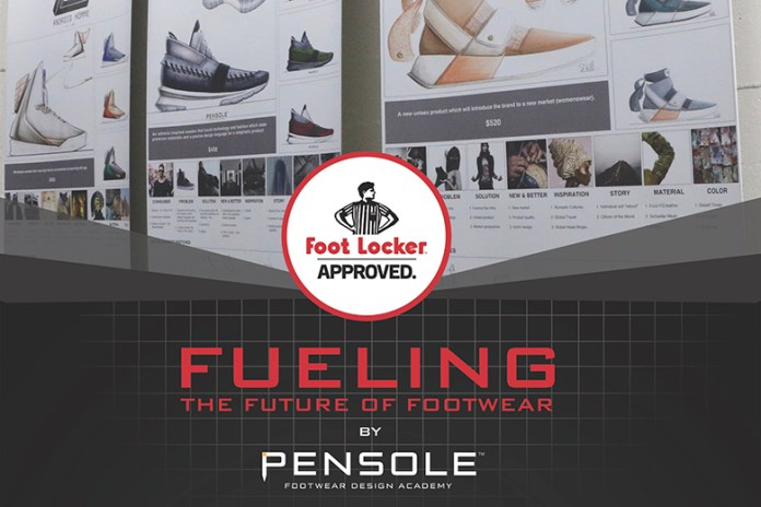 Foot Locker and PENSOLE Are Searching for the Next Big Footwear Designer