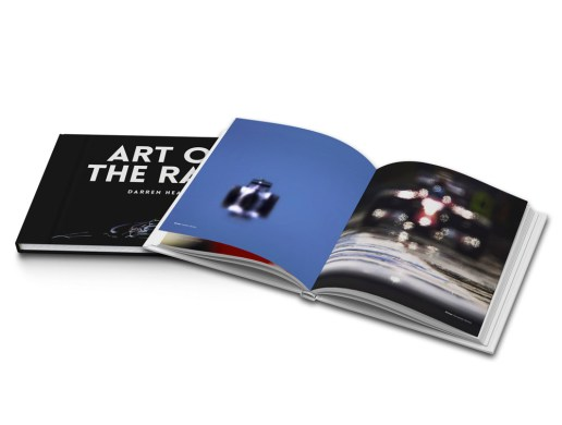 Formula One Photographer Darren Heath Presents 'Art Of The Race' Book