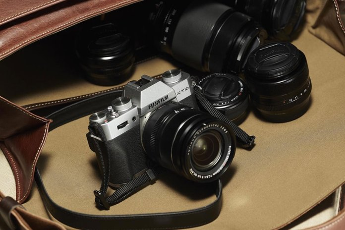 Fujifilm Unveils the X-T10 Camera