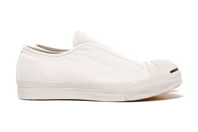 GANRYU COMME des GARÇONS 2015 Spring/Summer Cotton Canvas Laceless Sneakers