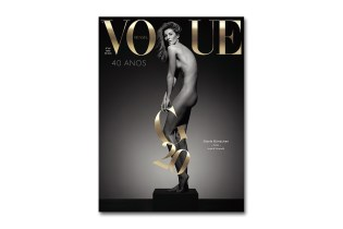 Gisele Bündchen by Inez & Vinoodh for the 40th Anniversary Issue of 'Vogue Brazil'
