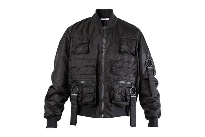 Givenchy Multi-Pocket Bomber Jacket