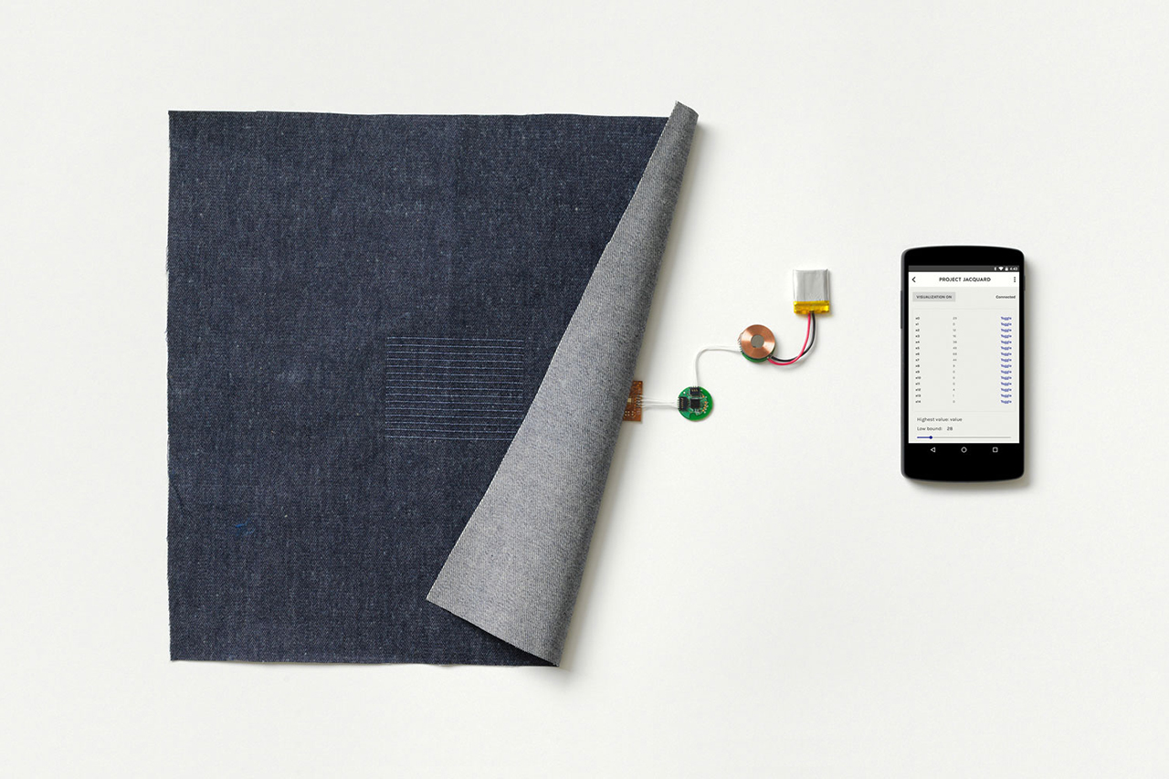 """UPDATE: Google Partners With Levi's to Develop """"Project Jacquard"""" Smart Fabric"""
