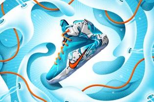"""#hypebeastkids: Nike LeBron 12 and Kobe X """"Summertime Fun"""" Pack"""