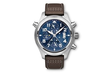 "IWC Pilot's Watch Double Chronograph ""Le Petit Prince"" Edition"