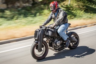 Jay Leno Takes to the Road with the Ronin 47 Motorcycle