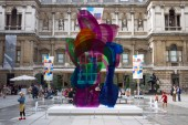 Jeff Koons' 'Coloring Book' Sculpture Sold for Over $13 Million USD