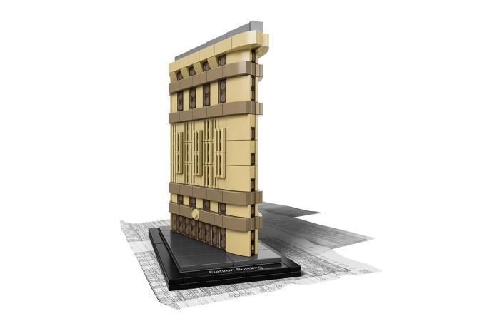 LEGO Architecture Celebrates NYC's Flatiron Building