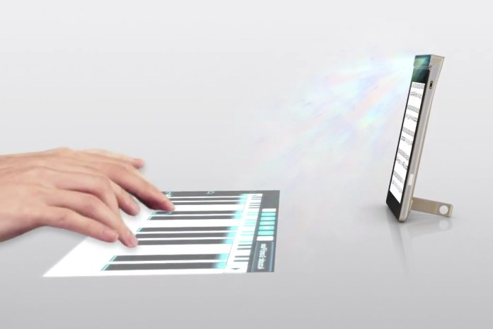 Lenovo Smart Cast Projects a Touchscreen Onto Any Surface