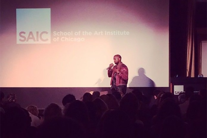 Listen to Yesterday's Kanye West Lecture at SAIC