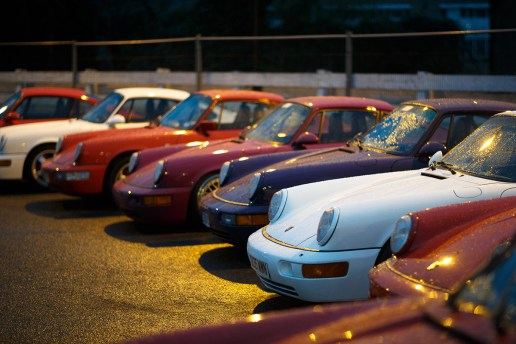 Magnus Walker Meets Fellow Porsche Enthusiasts at London's Legendary Ace Café