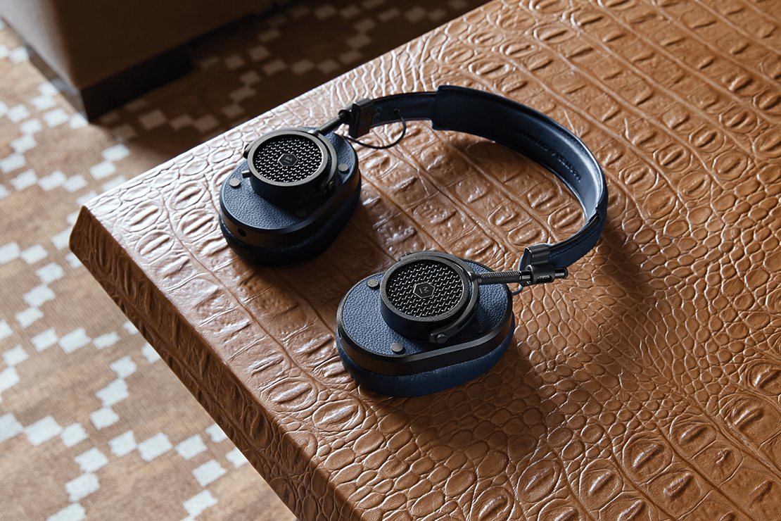 Master & Dynamic Introduce Marco Brambilla-Inspired MH40 Over-Ear Headphones