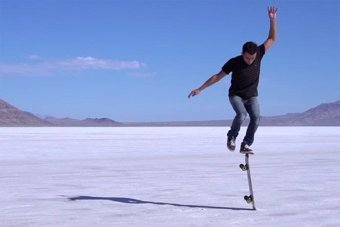 "Master of Freestyle Skateboarding Kilian Martin Goes Exploring in ""Searching Sirocco"""