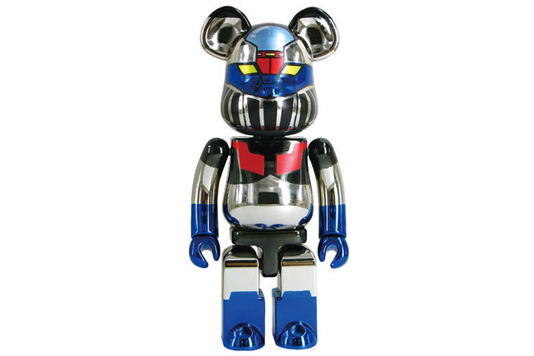 "Mazinger Z x Medicom Toy ""Super-Alloy Z"" Bearbrick"