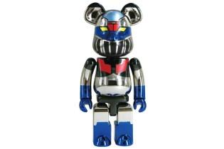 "Mazinger Z x Medicom Toy ""Super-Alloy Z"" Bearbrick"