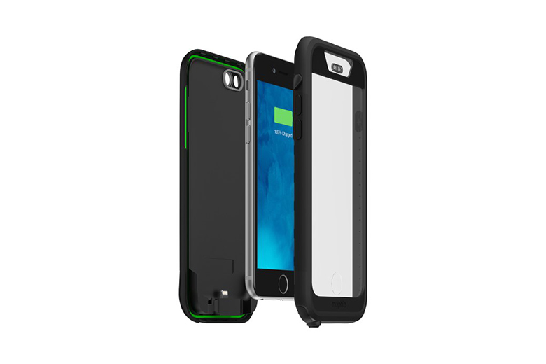 mophie juice pack H2PRO is the First Waterproof Battery Case for iPhone 6