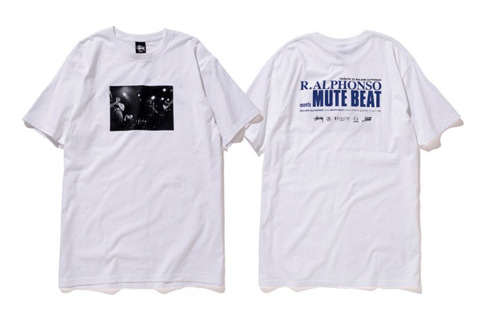 Mute Beat x Stussy 2015 Spring/Summer T-Shirts