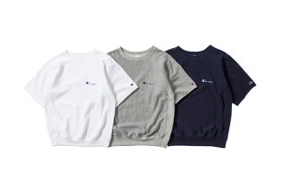 nanamica x Champion Japan 2015 Summer H/S Sweatshirts