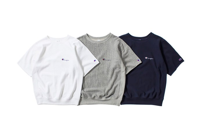 nanamica x Champion Japan 2015 Summer H/S Sweatshirts