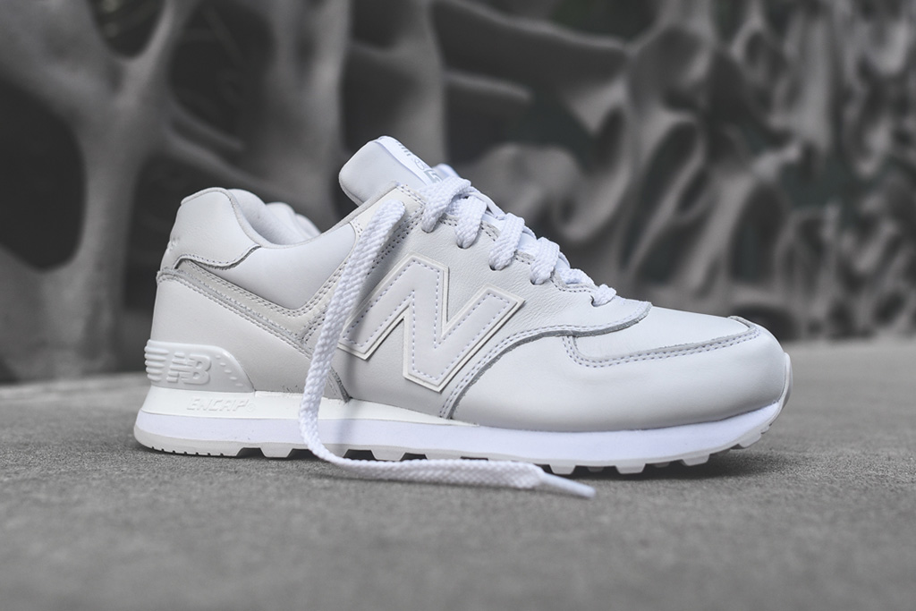new balance 574 white instinct