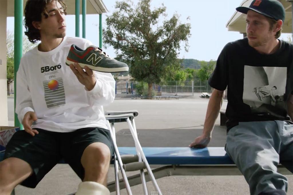 "New Balance Numeric Return in ""Sunland"" Skateboard Video"