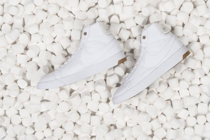 "Nike 2015 Spring/Summer ""White & Gum"" Lunar Force 1 and Blazer Lux"