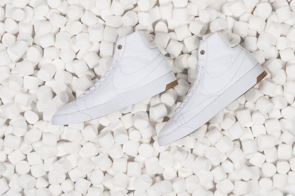 "Nike 2015 Spring/Summer ""White & Gum"" Lunar Force 1 and Blazer Lux"