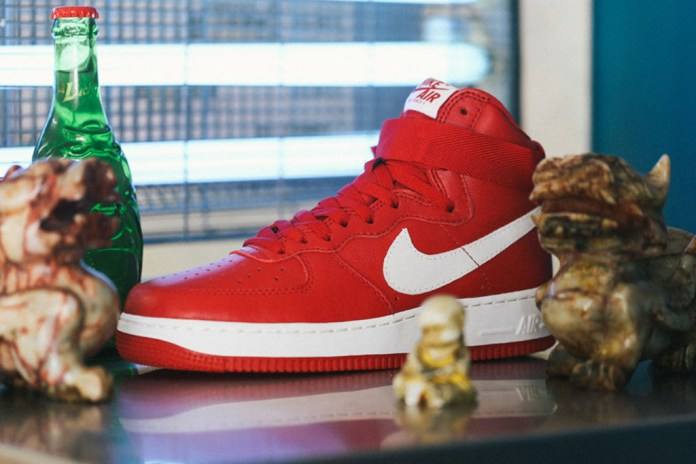 """Nike to Release Another Air Force 1 High """"Nai Ke"""""""