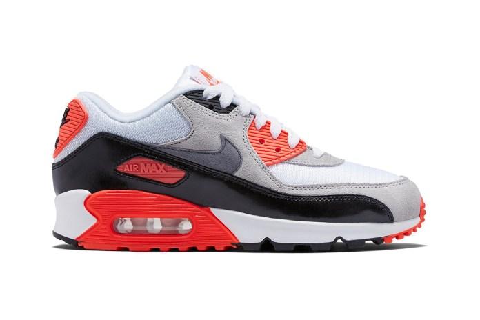 "Nike Air Max 90 ""Infrared"" 2015 Retro"