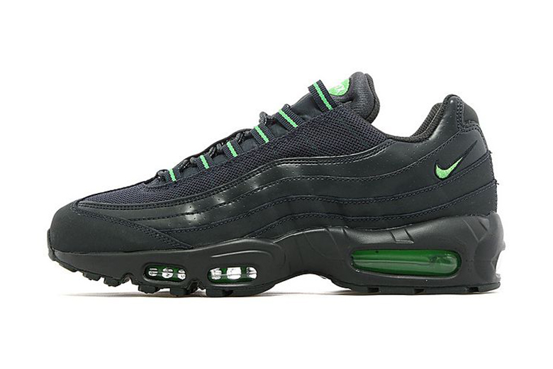 Nike Air Max 95 Anthracite/Green JD Sports Exclusive