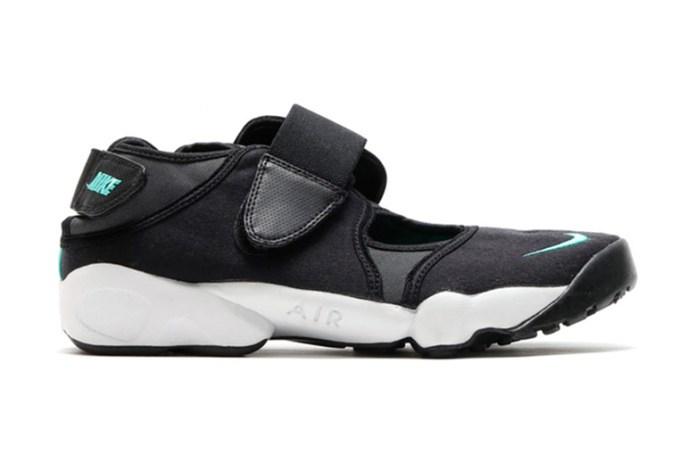 Nike Air Rift Black/Mint