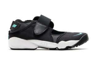 Nike Air Rift Black/Mint