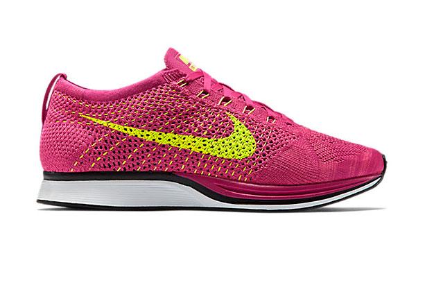 Nike Flyknit Racer Fireberry/Pink Flash-Volt