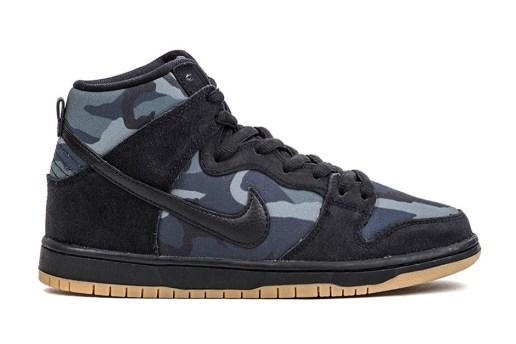 "Nike SB Dunk High ""Obsidian Camo"""
