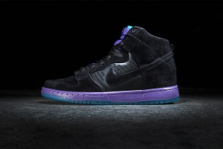 "Nike SB Dunk High Premium ""Black Grape"""