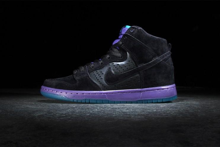 "Nike SB Dunk High Premium ""Black Grape"""