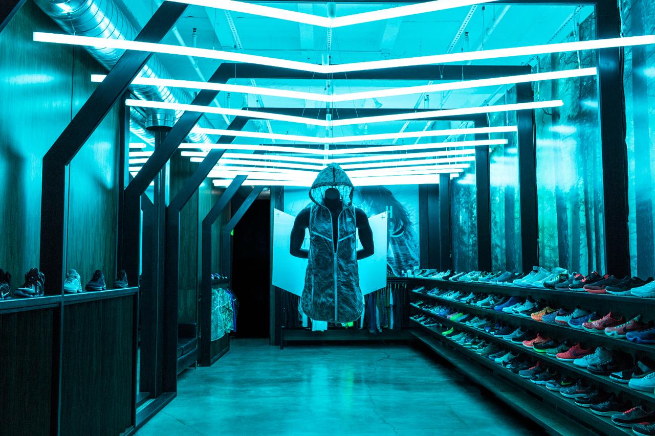 Nike Tech Pack Hyperfuse Windrunner Installation @ Blends, Beverly Hills